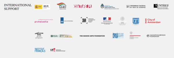 31st São Paulo Biennial international sponsors listed on the official website