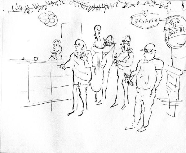 Havana sketch 7148