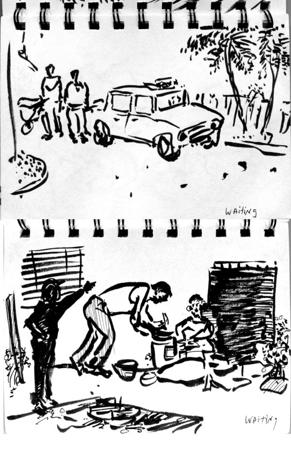 Waiting for authorities Havana 2017